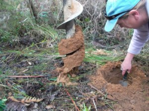 Soil testing for Land Capability Assessment Nornalup