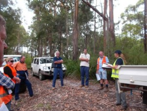 Site start up meeting Doggerup Road